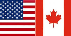 USA/Canada flag for merchandise page
